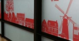 raamfolie Eindhoven